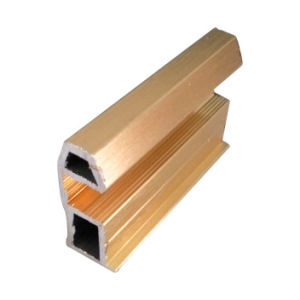 Aluminium Polished Golden Materail for Wardrobe Door pictures & photos