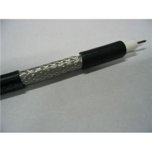 RG6 Coaxial Cable with 96 Braiding pictures & photos