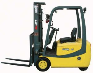 Three Wheel Electric Forklift Trucks (CPDS15, CPDS18) pictures & photos