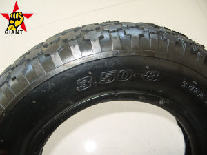 Rubber Tyre for Wheelbarrow Wheel 3.50-8