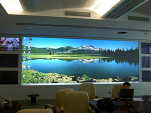 "120"" Optical Rear Projection Screen (Fresnel Lens) (R-S-60)"