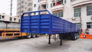 40 Feet 3 Axles 5-Compartment Walled Cargo Semi Trailer pictures & photos