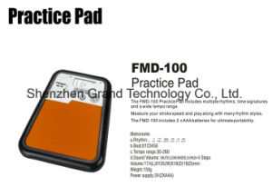 Practice Pad / Digital Electronic Drummer Training Practice Drum Pad pictures & photos