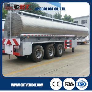 3 Axle 55 Cbm Fuel Oil Tank Truck Semi Trailer pictures & photos