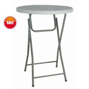 80*110cm Round Folding Bar Table (SY-81Y) pictures & photos