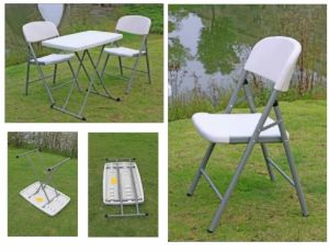 Outdoor Folding Plastic Chair (SY-52Y) pictures & photos