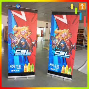 Aluminum Display Rack Roll up Banner Stand pictures & photos