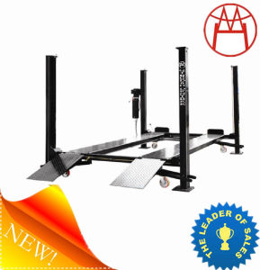 Best 3.7tons Four Post Parking Car Lifts (CE and ISO) (DFP608) pictures & photos