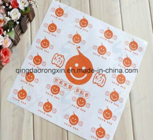 Food Grade Double Sides PE Coated Hamburger Paper pictures & photos