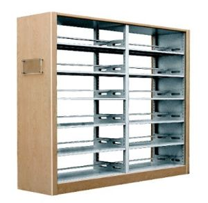 School Furniture Steel School Library Bookshelf Furniture (JH-S1008)