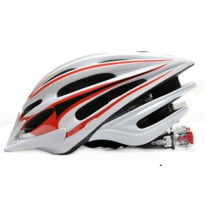 New Style Cycling Helmet Men, Red White Helmet, 2013 Helmet pictures & photos