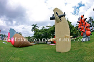 Beautiful Outdoor Inflatable Exhibitions /Inflatable Art Design/City Architecture