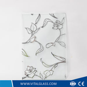 4-6mm Frosted/Acid Etched Decorative/Art Glass with CE & ISO9001 pictures & photos