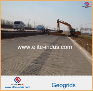 PP HDPE Pet Fiberglass Glassfiber Geogrids pictures & photos