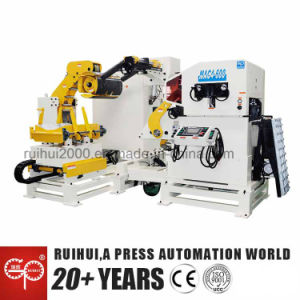 Automatic Machine Nc Servo Straightener Feeder and Uncoiler Using in Press Line pictures & photos