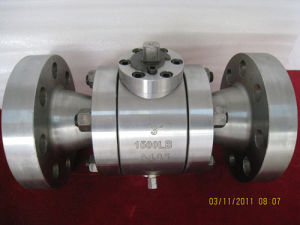 High Temperature Reduced Bore Floating Type Ball Valve Flange End