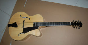 17inch Handmade Jazz Guitar---Available in The Stock