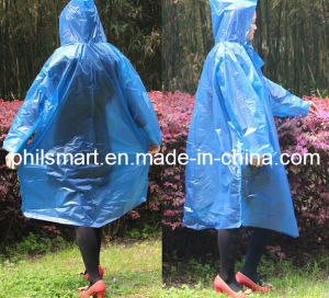 2014 Hotsell Emergency Waterproof Hiking / Traveling / Tour Rain Poncho pictures & photos
