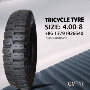 Tricycle Motorcycle Tyre 400-8 pictures & photos
