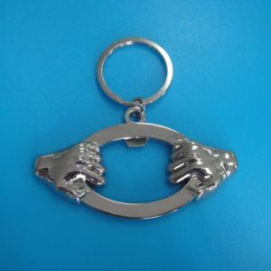 Two Hands Metal Bottle Opener Key Chain (AS-BO-LU-012) pictures & photos