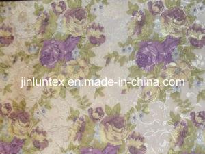 Foil Silver Printed Pongee Umbrella Fabric (UF10006)