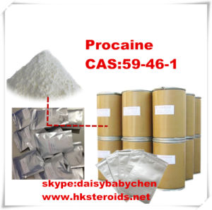 Nature Procaine CAS: 59-46-1 Powder for Local Intravenous Anesthesia