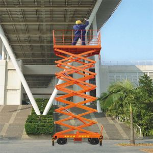12 Meters Hydraulic Lift Table Truck pictures & photos