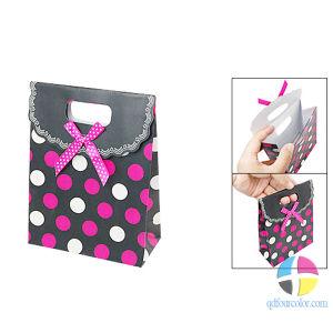 Christmas Paper Bag/ Gift Bag/ Die-Cut Paper Bag (FC-W-0059)