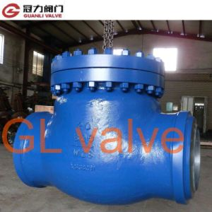 Weld Swing Check Valve with CE ISO API Certificates pictures & photos