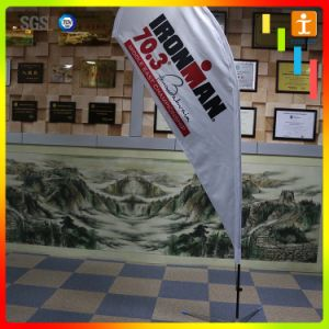 Wholesale Custom Banner Advertising Feather Shape Teardrop Beach Flag pictures & photos