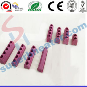 High Quality Ceramic Link Hole Parts for Mica Band Heaters Porcelain Ceramic pictures & photos