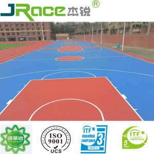 Synthetic Basketball/Tennis/Volley/Badmintion Court Coating Sport Surface pictures & photos