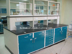 School Science Lab Hot Sale Metal Furniture with Reagent Shelves pictures & photos