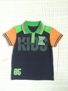Children Polo Shirts for Boy Sq-6267 pictures & photos