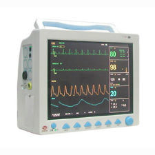 15′′ TFT Cms9200 6 Multiparameter ICU Patient Monitor-SpO2, Pr, NIBP, Resp, Temp, ECG pictures & photos