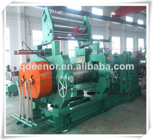 Fine Quality Rubber Open Mixing Mill Machinery / Reclaimed Rubber Making Line pictures & photos