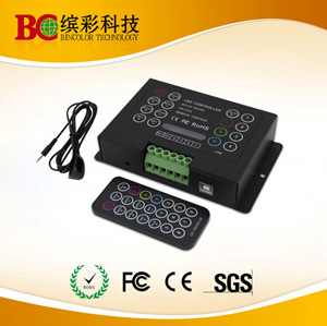 LED Controller with IR Remote Control (BC-380-6A)