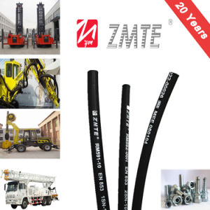 SAE100r1at Steel Wire Braided Smooth Cover Hydraulic Hose pictures & photos