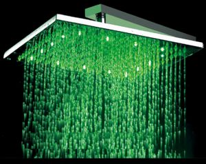 ABS/Brass LED Overhead Shower (8/12 Inch)