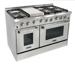 36 Inch Commercial Freestanding Gas Stove with Electric Oven pictures & photos