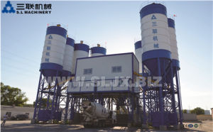 Hzs60 Concrete Mixing Plant with ISO CE Certified