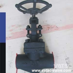 API602 Forged Steel A105 Cl800 Globe Valve with NPT/Bw/Sw pictures & photos