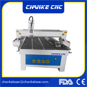 Metal Acrylic Stone Wood Carving CNC Router Machine for 3D Working pictures & photos