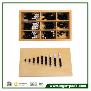 Montessori Black and White Wooden Toy for Promotional Gift pictures & photos