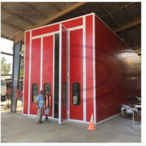 15m Bus and Truck Spray Paint Booth with Diesel Burner pictures & photos