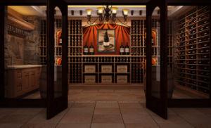 Brazil Rosewood Classic Wine Cellar