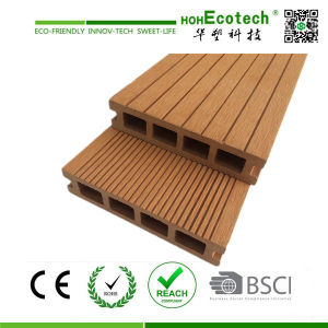 Wood Plastic Composite Decking Floor (140*30mm) pictures & photos