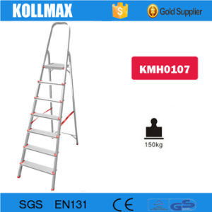 Aluminum Domestic Step Folding Ladder pictures & photos