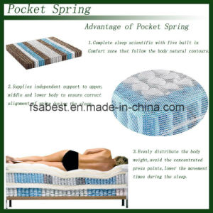 Memory Foam Pocket Spring Mattress ABS-1502 pictures & photos