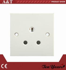CE Approved 15A Unswitched 3- Round Pin Socket Outlet